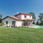 Projet de maison invididuelle au style provençale
