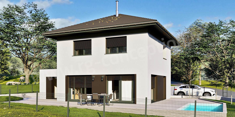 Projet de construction d'une maison individuelle à Saint Pierre d'Albigny